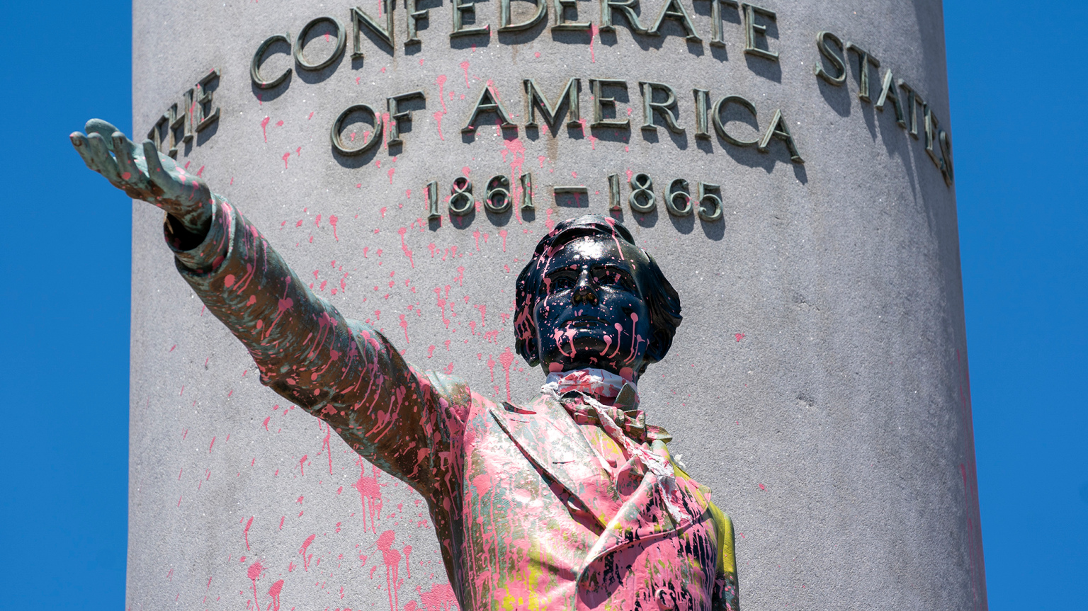 America Protests Confederate Monuments
